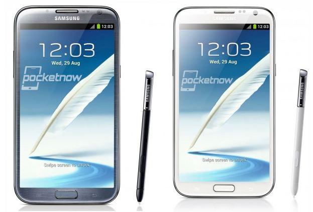Samsung Galaxy Note 2 Bilder und Technische Details veröffentlicht