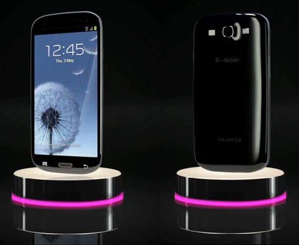 Erstes offizielles Samsung Galaxy S3 Foto in Schwarz