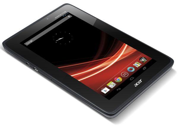 Acer holt mit Iconia Tab A110 zum Gegenschlag gegen Nexus-7