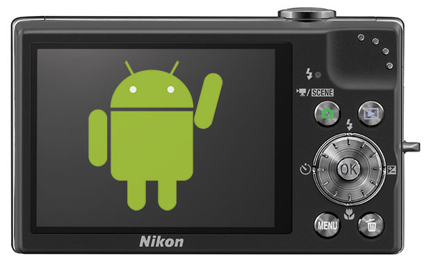 Nikon Coolpix S800 mit Android OS