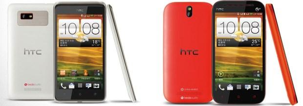 Neue HTC Smartphones in China aufgetaucht