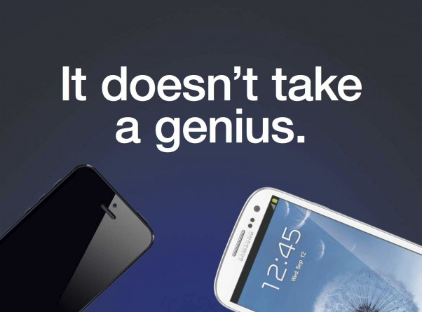 Neue Samsung Werbung greift iPhone 5 an