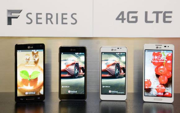 LG Optimus F-Serie mit LTE