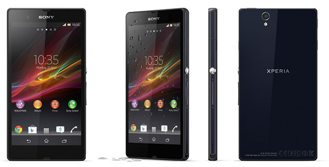 Sony Xperia Z mit Display Problemen?