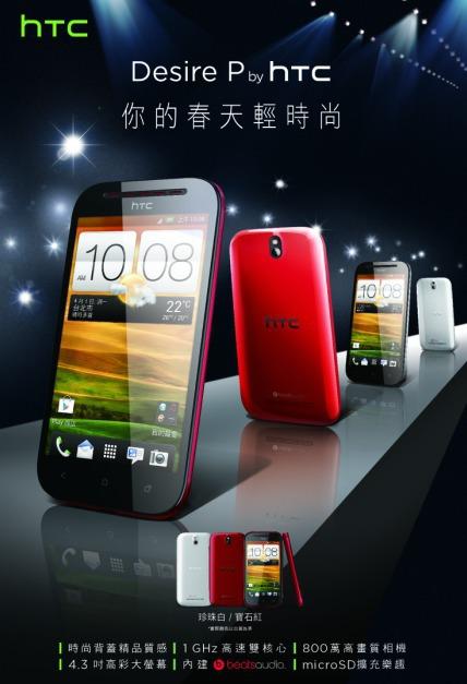 HTC stellt Mittelklasse Smartphones für 2013 vor