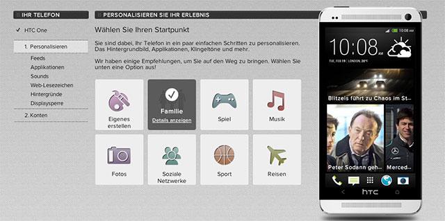 HTC One: Online Konfigurator gestartet