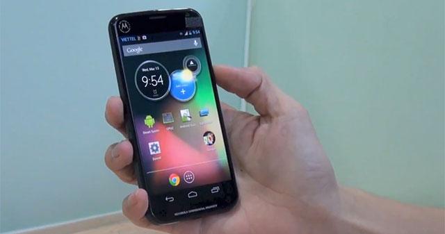 Leaked: Neues Motorola Smartphone ohne Motoblur UI