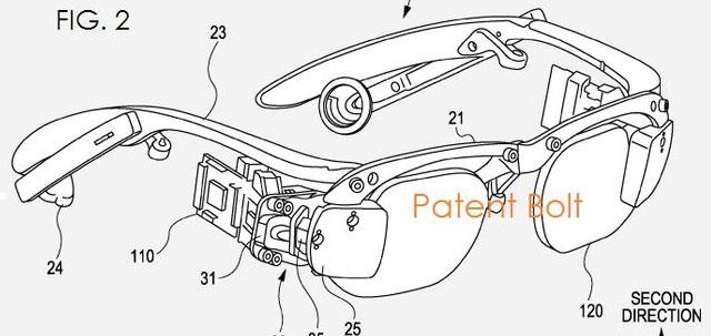 Sony mit neuem Patent für GoogleGlass ähnliche Brille