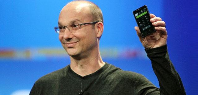 Android Gründer Andy Rubin tritt zurück