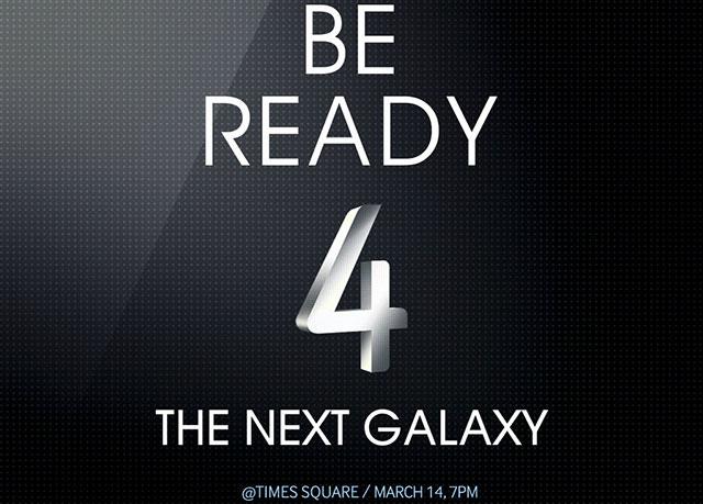 Samsung Galaxy S4 Live Stream und Launch Party