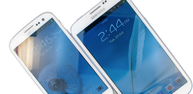 Samsung Galaxy Note 3 mit 5,9 Zoll Display?