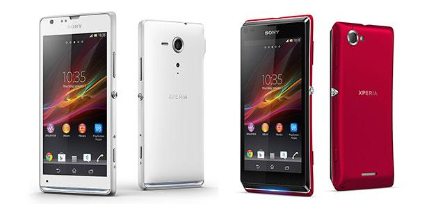 Sony veröffentlicht Xperia SP und Xperia L