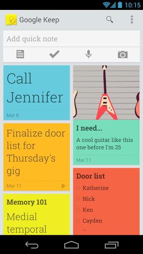 Google startet Android Notiz-App Keep